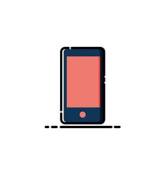 Handphone mbe style logo vector