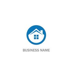 home realty rocompany logo vector image