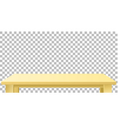 light wooden or plastic beige tabletop vector image