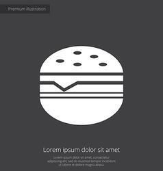 Sandwich premium icon vector