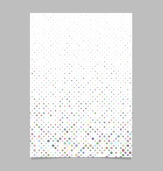 Abstract circle pattern background page template vector