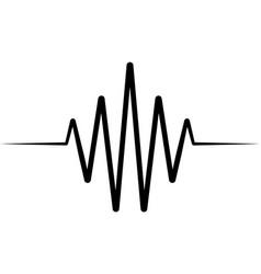 Activity splash icon wave logo heartbeat vector