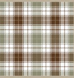 brown tartan plaid seamless pattern vector image