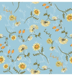 chrysanthemum blue vector image