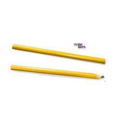 Construction or carpenter pencils yellow vector