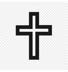 symbol christian isolated vector image