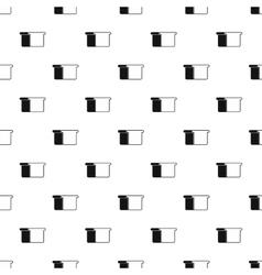 Toast bread pattern simple style vector