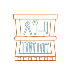 tool box vector image