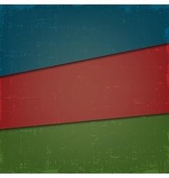 Set of vintage grunge background in old vector image vector image