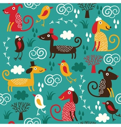fabric children design vector image vector image