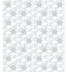 Abstract light cubes vector