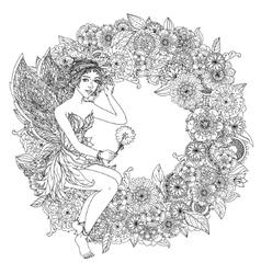 fairy or elf vector image