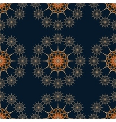 seamless pattern on a red background vector image