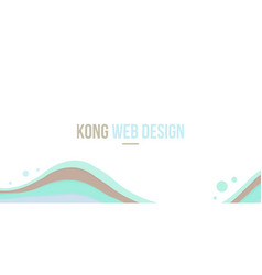 Abstract background header website design wave vector