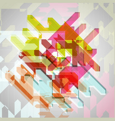 abstract colorful eps10 background vector image