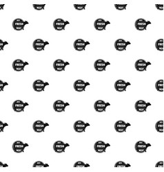 best fresh meat pattern seamless vector image