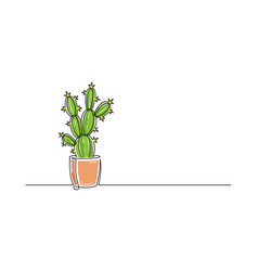 Flower Pot Drawing Vector Images Over 8 000