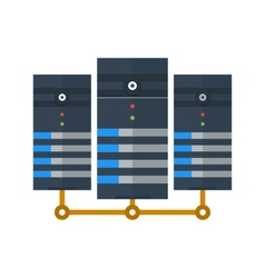 Data Center vector image