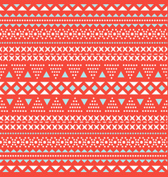 Embroidery style stitches seamless pattern vector