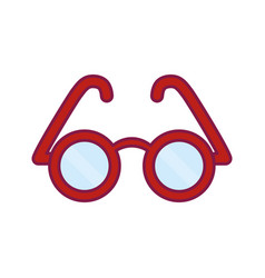 Glasses icon imag vector