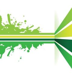 Green strip background vector