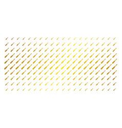 screwdriver gold halftone matrix vector image
