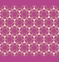 seamless pattern in pink vector image