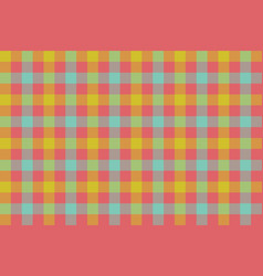 check fabric texture background seamless pattern vector image