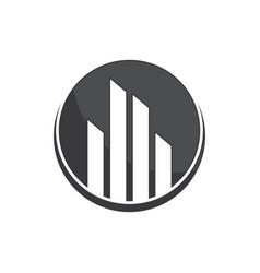 Real estate logo concept image vector