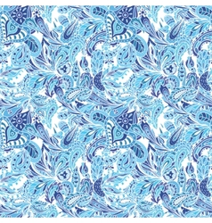Blue Creative Pattern vector image