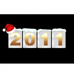 celebration 2011 vector image