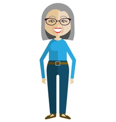 Generations - Retired Woman vector