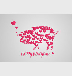 Happy chinese new year background or banner design vector