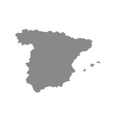 Map spain vector