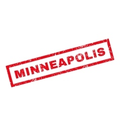 Minneapolis Rubber Stamp vector