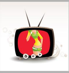 Sexy tv 05 vector