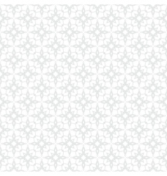 White and silver geometric texture in art deco vector image