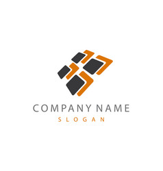 abstract logo 7 vector image