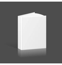Blank Book Binder or Folder Template vector image vector image