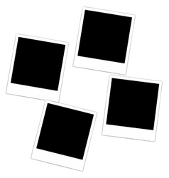 Collection photo frame vector image vector image