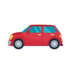 hatchback automobile icon vector image vector image