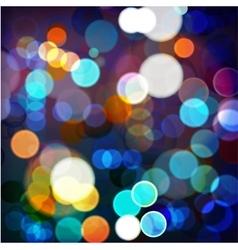 Background Night Lights vector