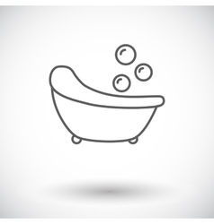 Bath icon vector image