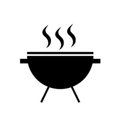 grill barbeque vector image