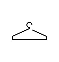 hanger icon design template isolated vector image