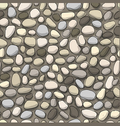 pebble background seamless pattern for your vector image