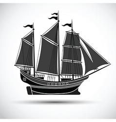 Sailing ship2 vector image