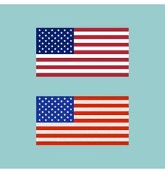 American Flag Symbol vector image vector image
