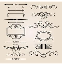 set border design element vector image