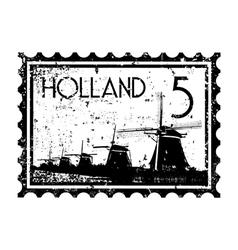 holland icon vector image vector image